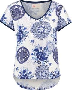 T-shirt Home z dekoltem w kształcie litery v