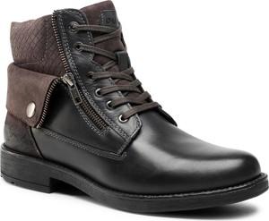 Czarne buty zimowe Quazi w stylu casual
