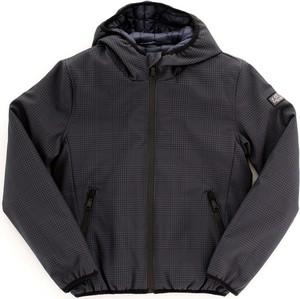Czarna kurtka Yes Zee w stylu casual krótka