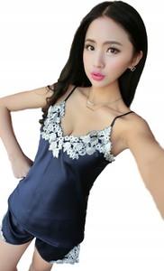 Niebieska piżama Yaze