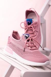 Buty sportowe Casu z płaską podeszwą sznurowane