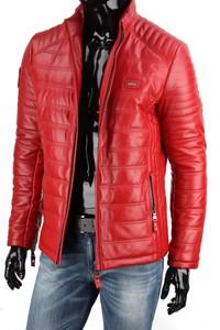 Czerwona kurtka Dorjan w stylu casual