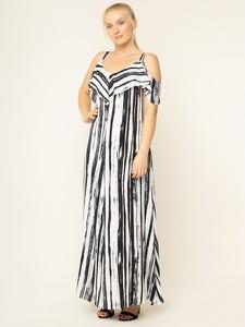 Sukienka Persona by Marina Rinaldi z dekoltem w kształcie litery v w stylu casual