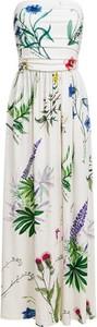 Sukienka RISK made in warsaw maxi z dekoltem w kształcie litery v