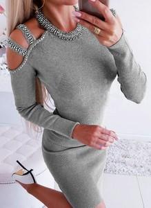 Sukienka Cikelly w stylu casual ołówkowa mini