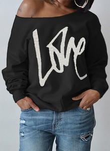 Czarna bluza Cikelly z bawełny w młodzieżowym stylu
