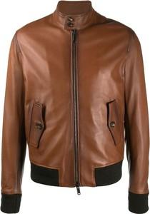 Brązowa kurtka Tagliatore krótka w stylu casual