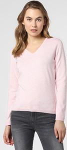 Różowy sweter brookshire w stylu casual