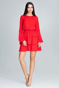 820b61487958d3 czerwona sukienka gdzie kupić - stylowo i modnie z Allani
