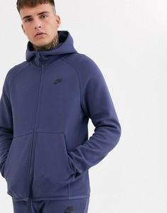 Fioletowa bluza Nike z plaru
