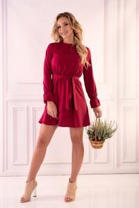 Sukienka MERRIBEL rozkloszowana mini