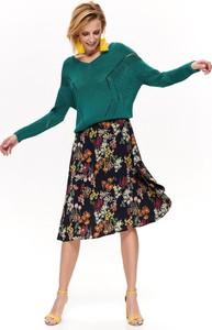 Spódnica Top Secret w stylu casual z tkaniny