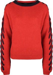 Sweter ubierzsie.com w stylu casual z dzianiny