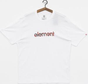 T-shirt Element z krótkim rękawem z żakardu