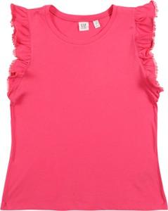 Różowa koszulka dziecięca Gap
