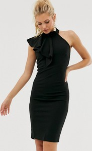 Czarna sukienka Girl In Mind ołówkowa mini