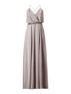 Sukienka Unique maxi z tiulu na ramiączkach