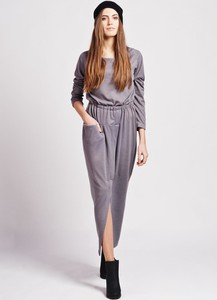 Sukienka Lanti w stylu casual z długim rękawem maxi