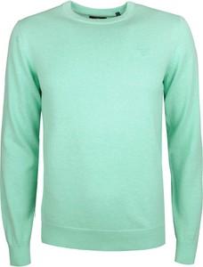 Miętowy sweter Gant