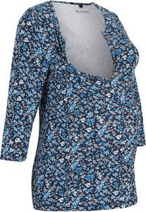 Shirt ciążowy i do karmienia piersią, bawełna organiczna   bonprix