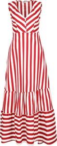 Czerwona sukienka Liu-Jo maxi