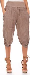 Spodnie Manoukian z lnu w stylu casual
