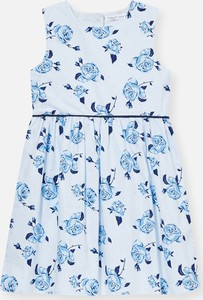 Niebieska sukienka dziewczęca Sinsay