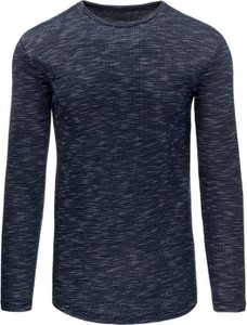 Sweter dstreet bez wzorów z elastanu