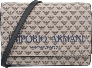 Torebka Emporio Armani na ramię w młodzieżowym stylu z nadrukiem