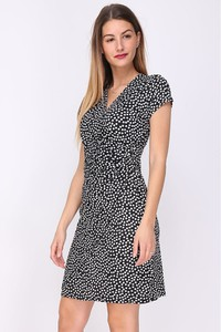 Sukienka Chic & Pretty mini z dekoltem w kształcie litery v