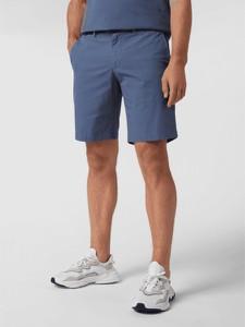 Niebieskie spodenki Tommy Hilfiger w stylu casual z tkaniny