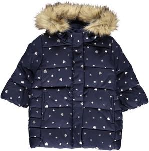 Granatowa kurtka dziecięca Gap dla dziewczynek