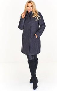 Płaszcz Fokus w stylu casual z wełny
