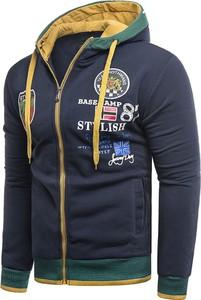 Bluza Risardi z nadrukiem w młodzieżowym stylu