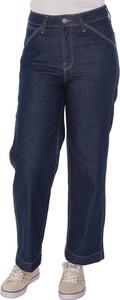 Niebieskie jeansy Lee w stylu casual z jeansu