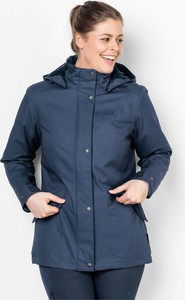 Granatowa kurtka Autoryzowany Sklep Jack Wolfskin w stylu casual