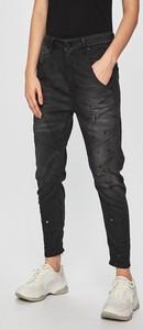 Czarne jeansy Diesel z bawełny w street stylu