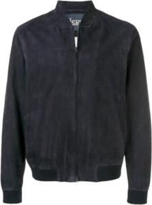 Czarna kurtka Herno z dzianiny krótka w stylu casual
