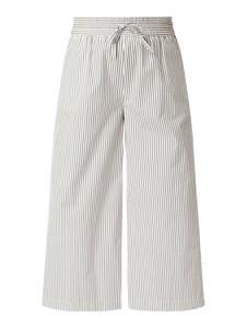 Spodnie Weekend Max Mara z bawełny