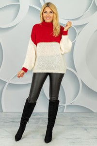 Sweter Made in Italy w stylu casual