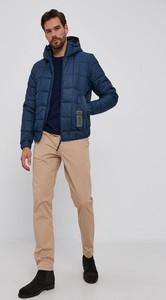 Granatowa kurtka G-Star Raw krótka w stylu casual