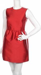 Czerwona sukienka Red Valentino bez rękawów mini