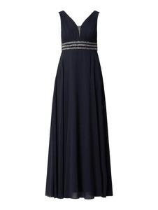 Czarna sukienka Jake*s Cocktail z szyfonu maxi
