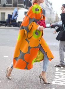 Pomarańczowy sweter Sandbella