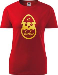 T-shirt TopKoszulki.pl z bawełny z okrągłym dekoltem