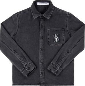 Czarna koszula dziecięca Calvin Klein