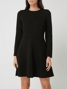 Sukienka Esprit mini z długim rękawem z okrągłym dekoltem