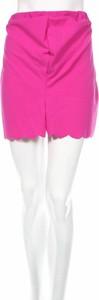 Różowe szorty BooHoo w stylu casual