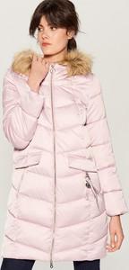 Różowy płaszcz Mohito