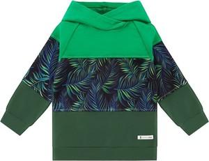 Bluza Mammamia w młodzieżowym stylu z dresówki z nadrukiem